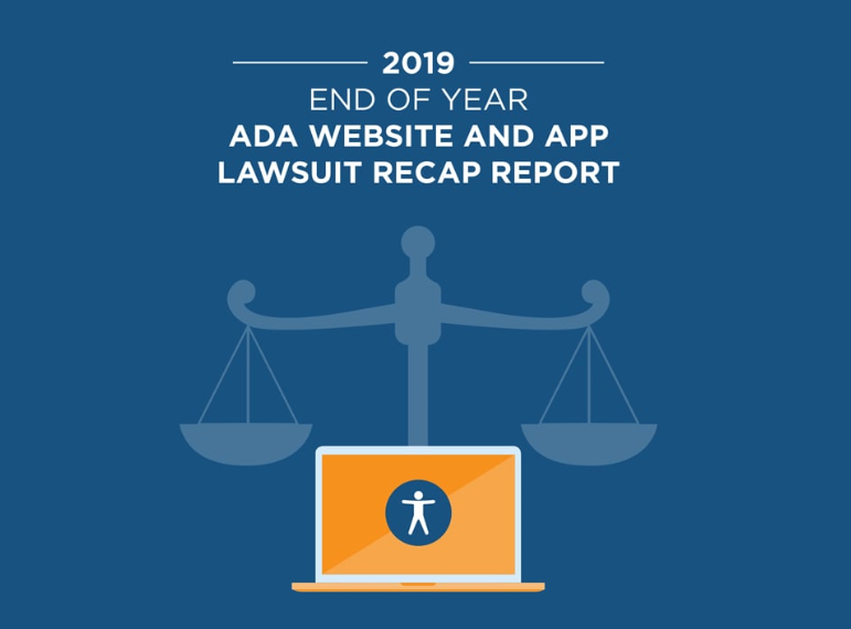 2019 ADA Web Accessibility and App Lawsuit Report image
