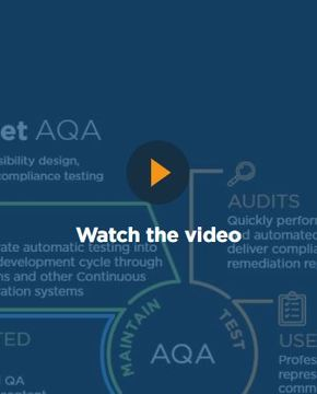 Evaluate, Verify, and Maintain Compliance with UsableNet AQA image